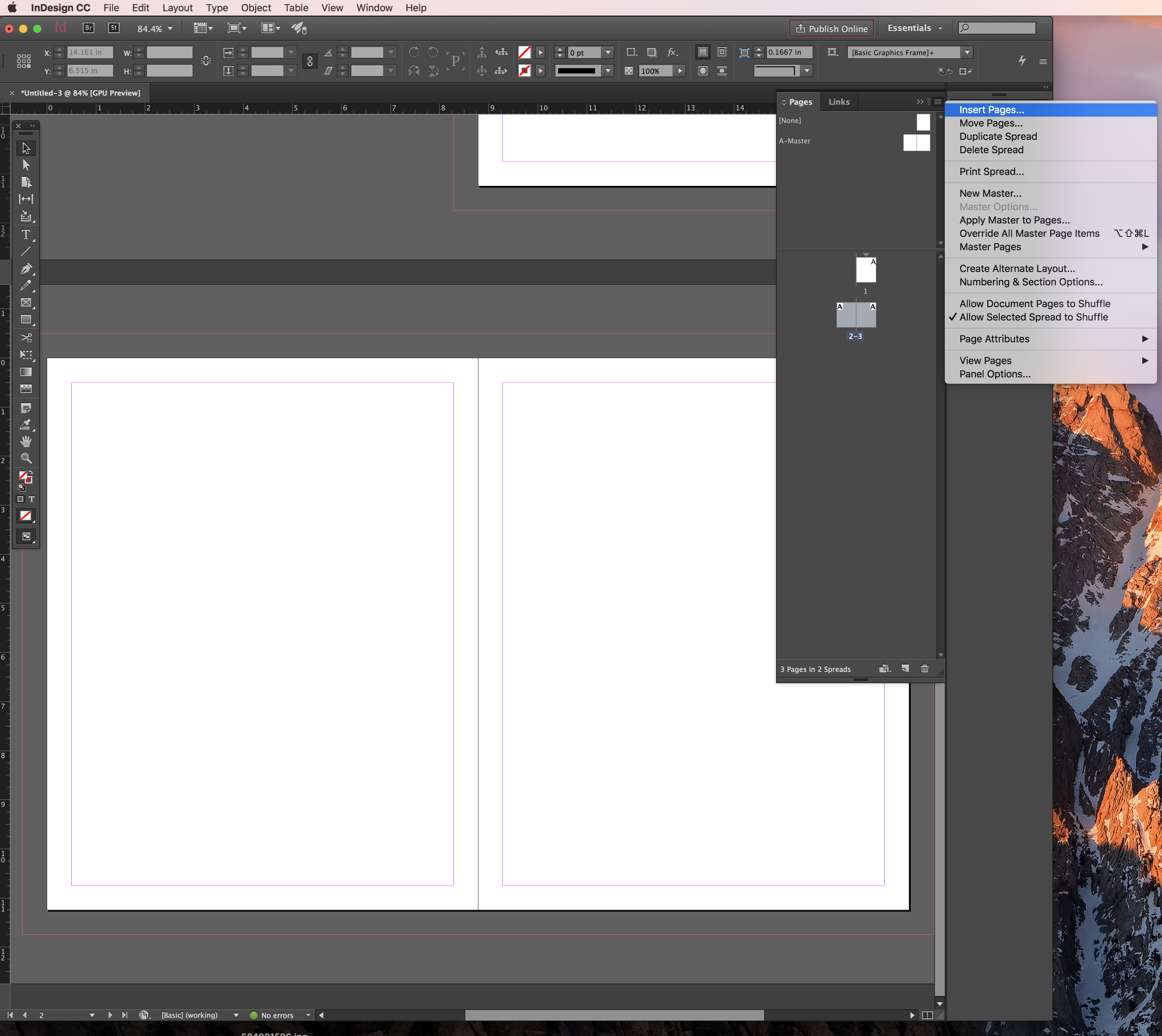 create tabs on pdf cover page