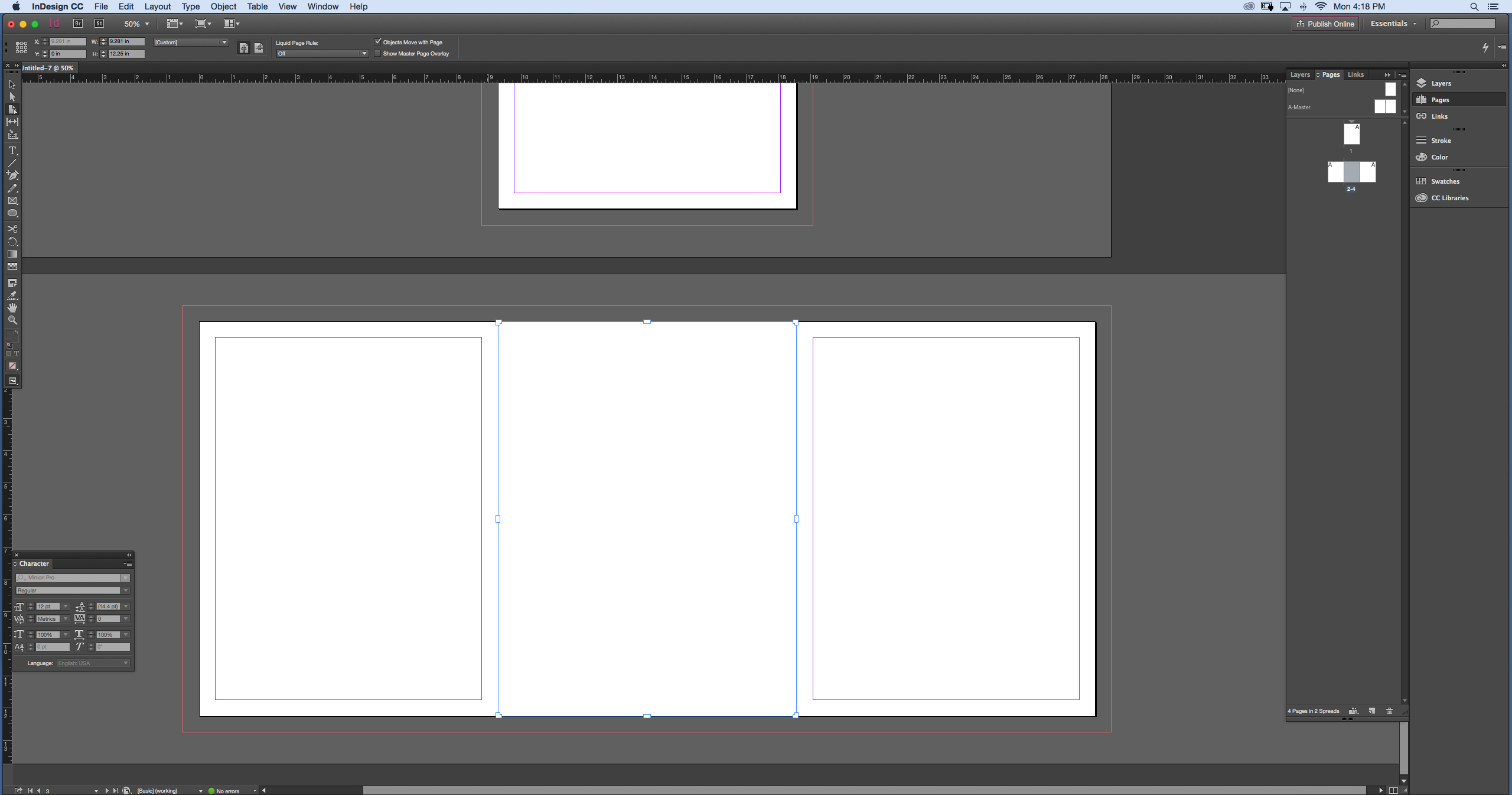 Using InDesign to Create Your Own Yearbook Design for 9\